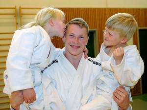 Judotrener Øyvind Klyve. FOTO: Christian Wolff.