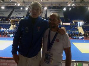 Henrik Reitan og Anders Dahlin. FOTO: Gunnar Reitan.
