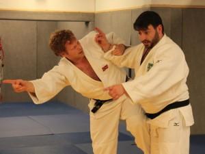 Lars og Luiz blir enige om retningen. FOTO: Stine Lastein.