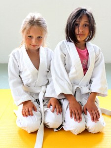 Judokonkurranser for barn fra 8 år. FOTO: Erlend Brovold.