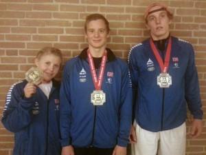 LL-medaljer i Alkmaar Open. FOTO: Albin Dal