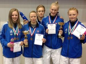 Norges deltagere i Estland. FOTO: Anders Dahlin