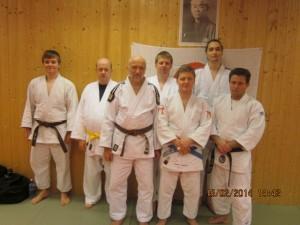 Deltagere på treningssamling i Nordre Land IL - Judo.