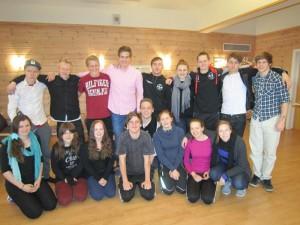 Deltakere på lederkurs for ungdom 2014.
