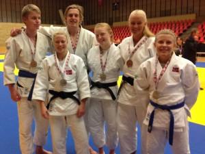 Medaljevinnere dag 1. FOTO: Anders Dahlin.