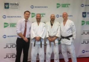 Fra venstre: Martin H. Helliesen, Tor Gunnar Isdahl, Jon Erie Prytz og Harald Monsen.