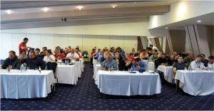 Deltakerne på seminaret. FOTO: Thom Hallum
