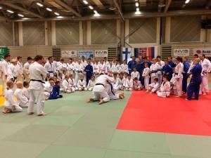 Bilde av treningssamlingen i 2014.