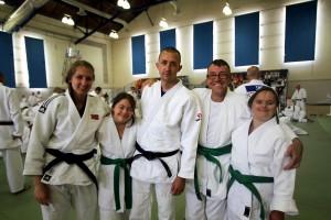 Den norske judotroppen. Foto: Karl Filip Singdahlsen/NIF