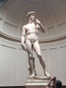 David av Michelangelo. FOTO: Lill Merethe Tjeldvoll