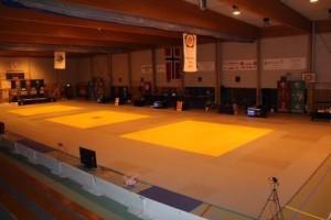 Årets første Norgescup-stevne avholdes i Sandehallen