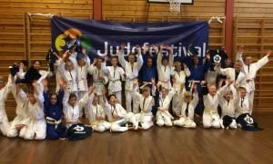 Konkurranseregler for barn: Fra Judofestivalen i Ålesund. FOTO: Sunniva W. Kui