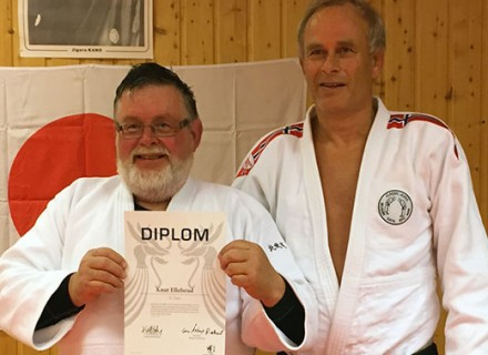 F.v. Knut Ellefsrud og Geir Reehorst.