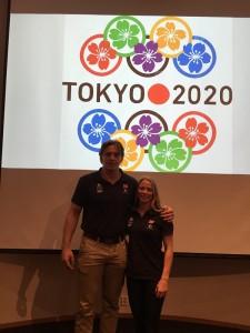 Henrik Reitan og Madelene Rubinstein satser mot OL i Tokyo 2020, og er nå tatt ut til U23 EM.