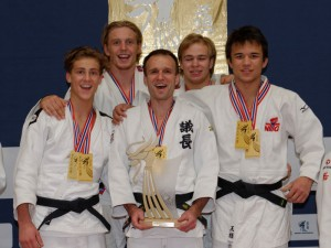 Norgesmester Ippon JK i senior herrer! Foto: Christian Wolff / judobilder.org