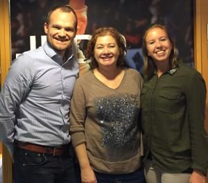 F.v. Generalsekretær Kristoffer Halmøy, Nicoline Soteland fra Nordic Choice, og Utviklingssjef Lill Merethe Tjeldvoll.
